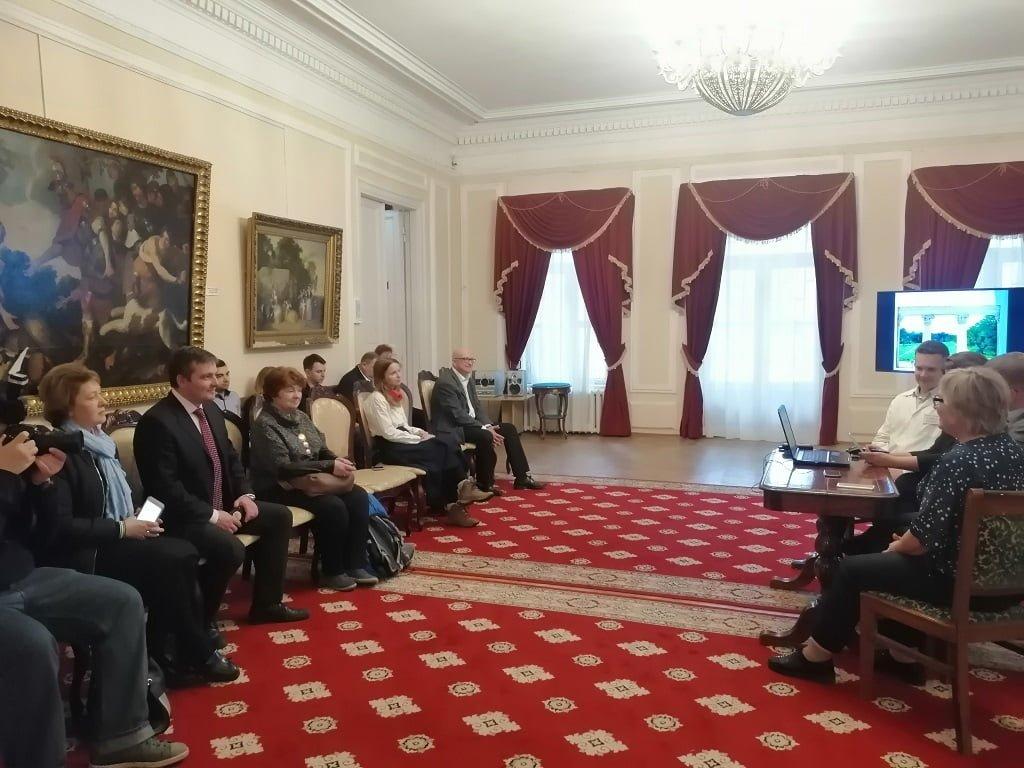 4 октября в санатории «Узкое» состоялось мероприятие для представителей прессы