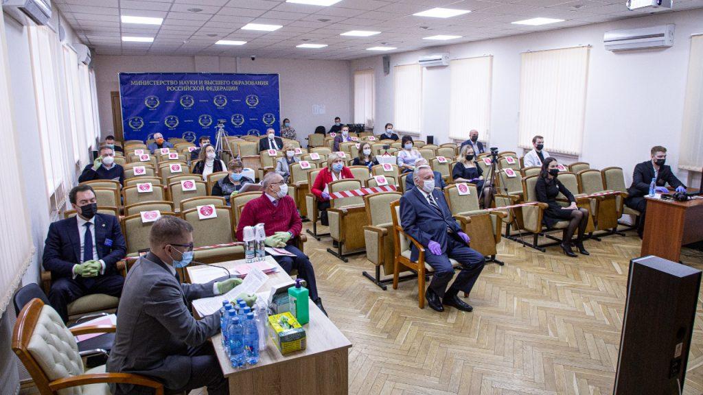 В НИИ общей реаниматологии им. В.А. Неговского ФНКЦ РР состоялось заседание диссертационного совета
