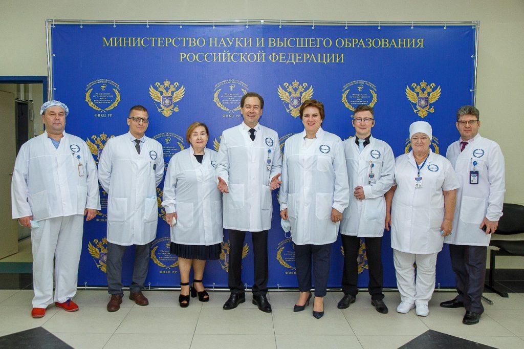 Руководитель Федеральной службы по надзору в сфере здравоохранения Самойлова Алла Владимировна посетила с рабочим визитом Федеральный научно-клинический центр реаниматологии и реабилитологии